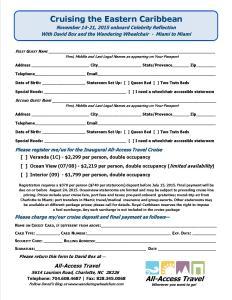 Cruising Eastern Caribbean Registration